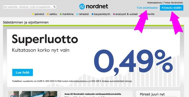 Näin sijoitin 300,00 € Nordnetiin