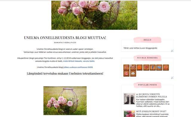 Näin vaihdat Blogger blogin teeman