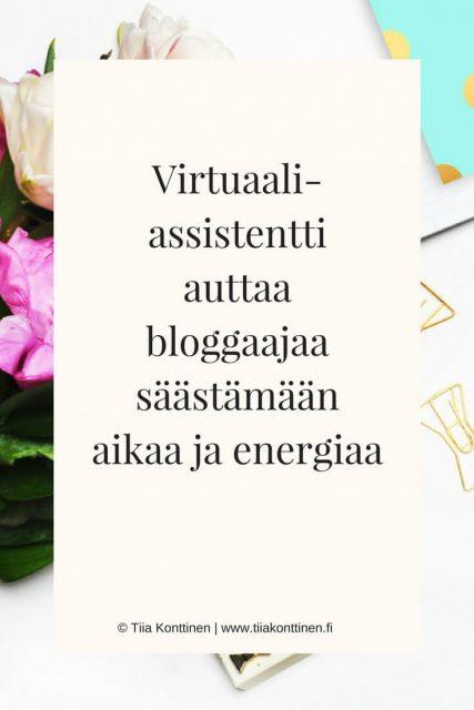 5 syytä, miksi bloggaajan kannattaa palkata virtuaaliassistentti