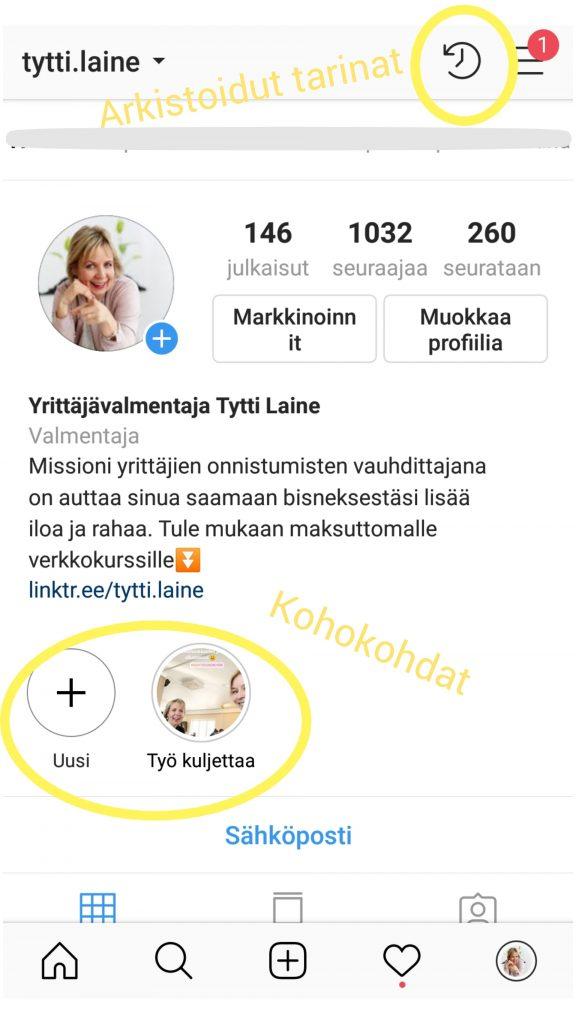 Haluatko tulla paremmin huomatuksi Instagramissa?