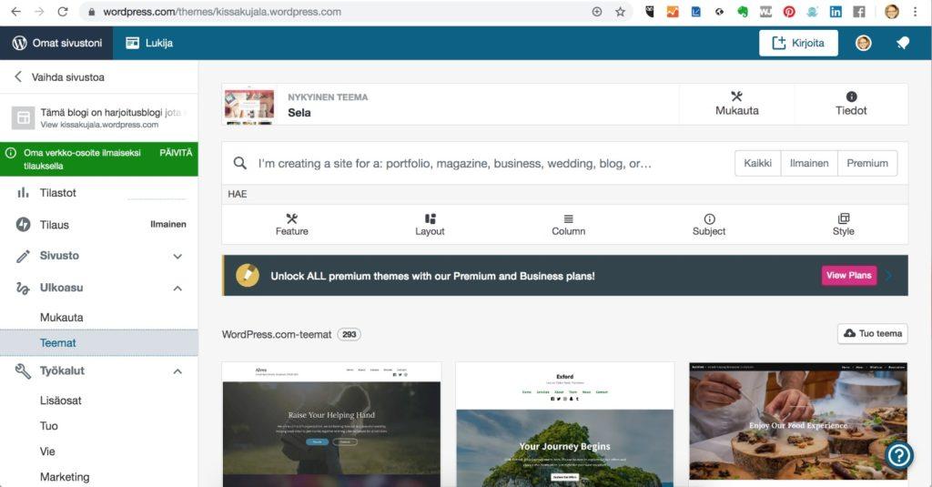 Mitä eroa on WordPress.comilla ja WordPress.orgilla