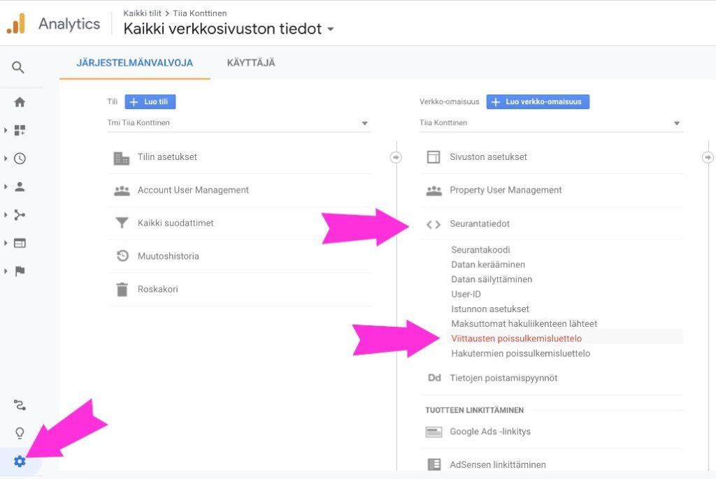 Mitä teet jos näet Google Analyticsissä liikennettä pornosivuilta?